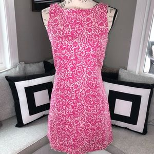 Lilly Pulitzer Sophia Dress. Pink and White